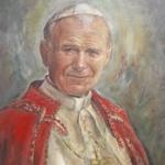 eGaleria · Obrazy olejne - św. Jan Paweł II