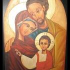 08. Święta Rodzina - kopia ikony (mal. w Izraelu w latach 70-tych)