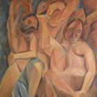 27. Pablo Picasso - Trzy kobiety
