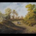 10. Edward Drdacki - Pejzaż wiejski