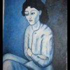 26. Pablo Picasso - Kobieta z założonymi rękami