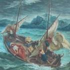 05. Eugene Delacroix - Jezus na Morzu Galilejskim