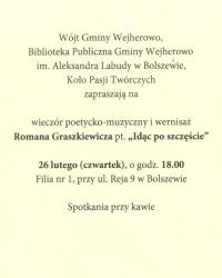 Zaproszenie na wernisaż - strona 2